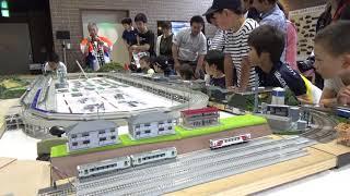 SL銀河 機関車一般公開in釜石 Nゲージ展示 2019/07/14 SONY CX680