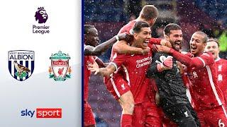 Wahnsinn! Alissons Torwart-Tor in der 95. Minute | West Bromwich - Liverpool 1:2