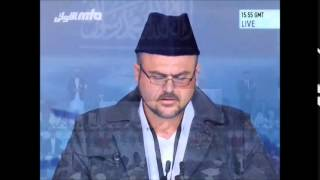 Arabic Qaseedah of Hazrat Mirza Ghulam Ahmad at Jalsa Salana UK 2014