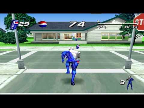 Pepsiman gameplay