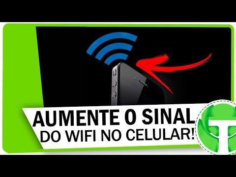 Como Aumentar O Sinal Do Wifi No Seu Android Youtube