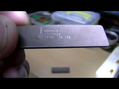 古いCPUの紹介 intel 8086、NEC 8086 & V30