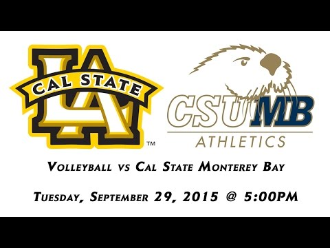 Cal State L.A Volleyball vs Cal State Monterey Bay (Tuesday)