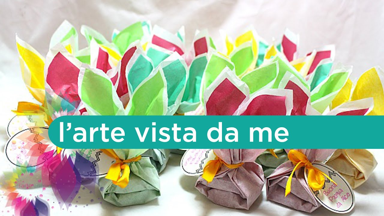 Coniglietti pasquali in carta velina tissue paper easter for Box per cavalli fai da te