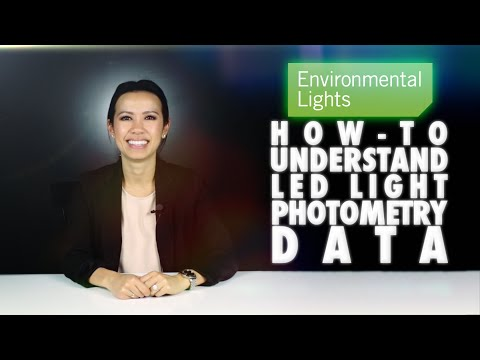 How-to Understand LED Light Photometry Data