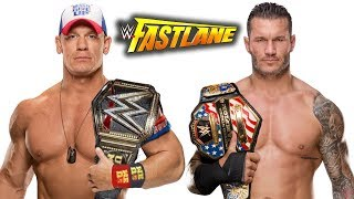 10 Late Breaking Rumors WWE Fastlane 2018 - New WWE Champion John Cena?