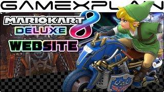 Mario Kart 8 Deluxe Website Tour (New Battle Mode Videos! - JP)
