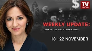 InstaForex tv news: Market dynamics: currencies and commodities (November 18 – 22)