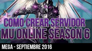 Tutorial - Crear servidor Mu Online Season 6 Episodio 3