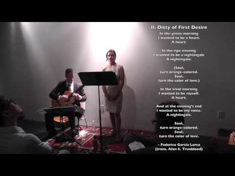 Two Lorca Songs - Nick Benavides - Jarring Sounds