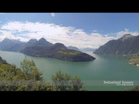 Lakes: Schwyz, Uri Central SWITZERLAND  ルツェルン湖 スイス