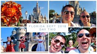 Walt Disney World & Florida Vlog - Sept 2018 - Day 2 - MAGIC KINGDOM!