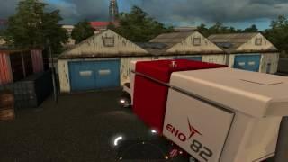 歐洲卡車模擬2 18噸風力發電機進場 !!