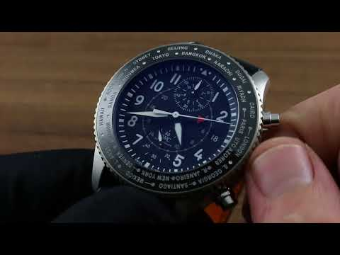 IWC Pilots Timezoner Chronograph Functions and Care