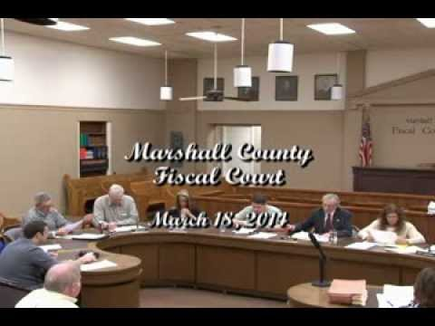 Marshall County Fiscal Court March 18, 2014