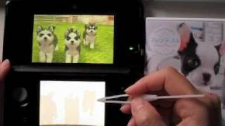 3ds Nintendogs + Cats (siberian Husky)