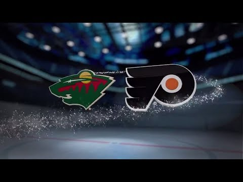Minnesota Wild vs Philadelphia Flyers - Nov. 11, 2017 | Game Highlights | NHL 2017/18.Обзор матча