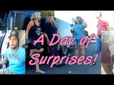 VAN LIFE | A Day of Surprises! Caravan Carolyn, Panda Monium, DestinationOpenRoad
