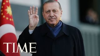 President Trump Gives Joint Statement With President Erdogan | TIME