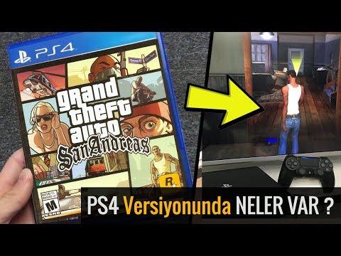 GTA SAN ANDREAS'I PLAYSTATION 4'DE OYNAMAK!