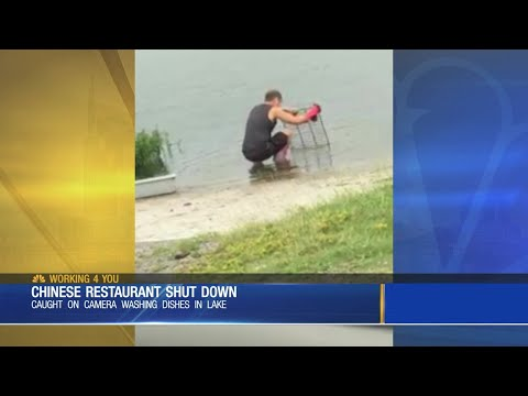 T-Bone - Video Shows Restaurant Washing Dishes In A Nearby Lake