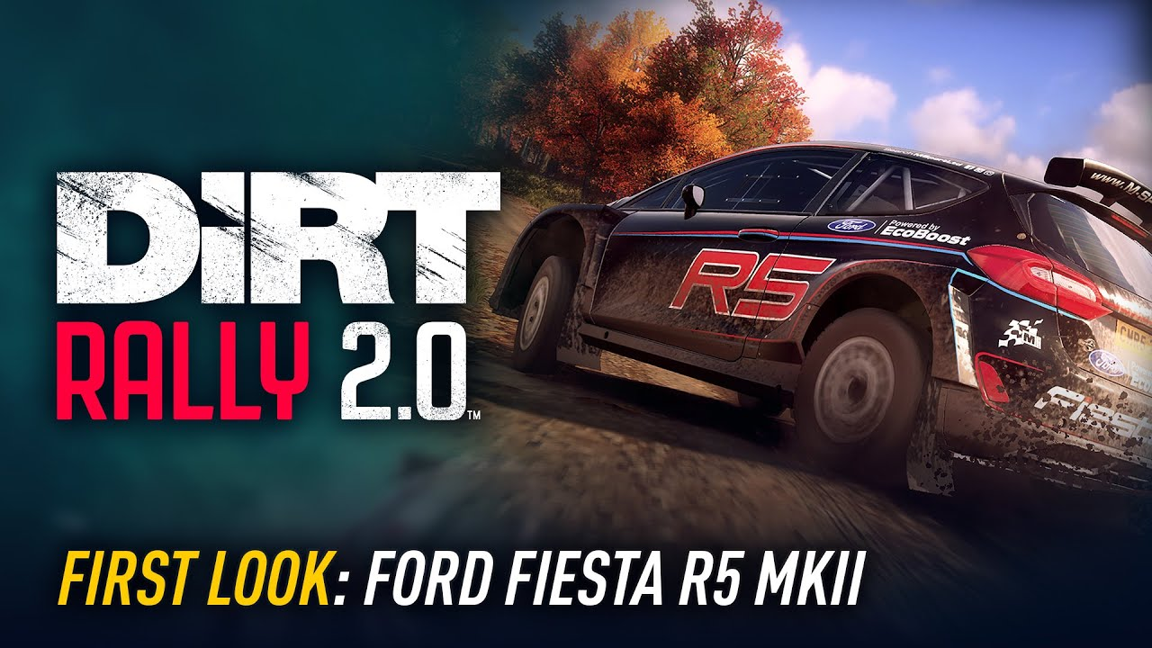 Video: DiRT Rally 2.0 first look at Ford Fiesta R5 MKII
