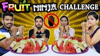 EPIC NO HAND CHALLENGE | FRUIT NINJA CHALLENGE