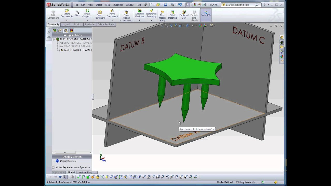 Geometric Dimensioning and Tolerancing, Part 5, Datums and Feature ...