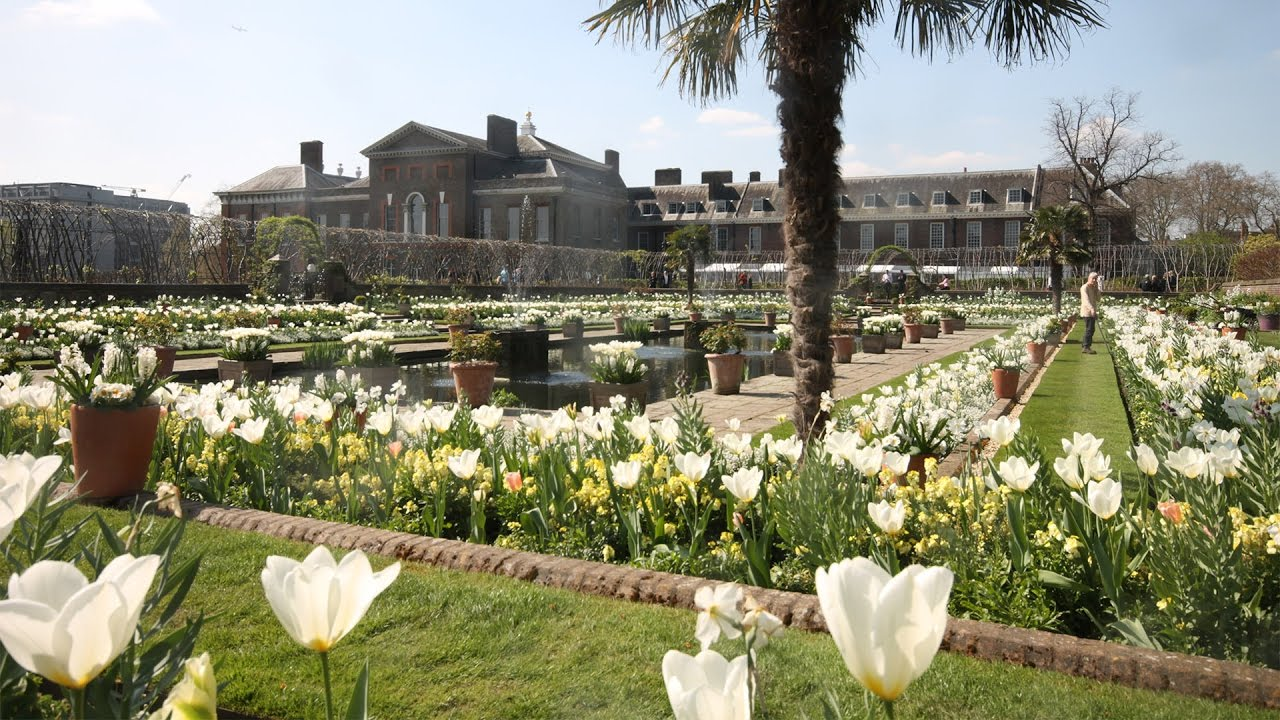 The white garden at kensington palace youtube the white garden at kensington palace mightylinksfo