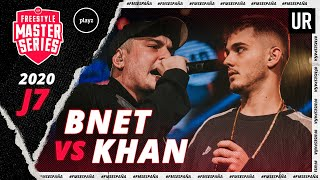 BNET vs KHAN | FMS España 2020 | Jornada 7