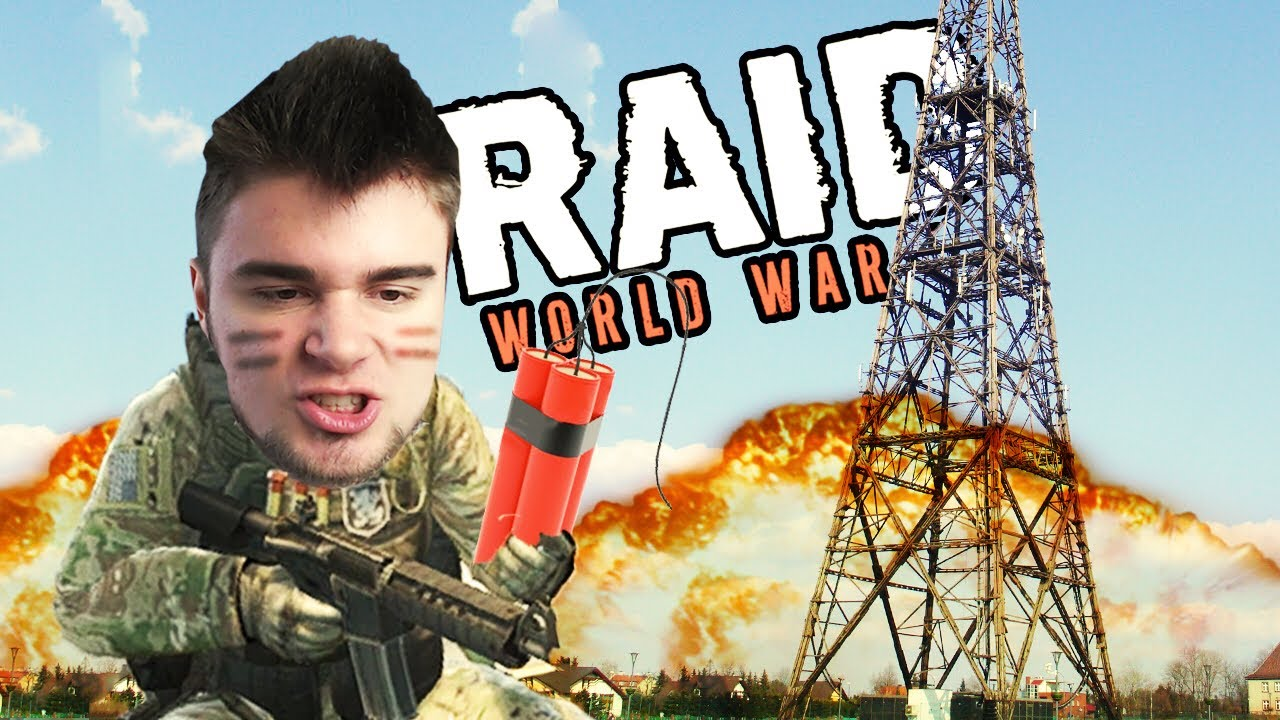 WYSADZAMY WIEŻĘ INTERNETU! | RAID: World War II [#6] (With: Robuch, Tominator, Wezyr)