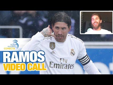 Sergio Ramos live on Real Madrid Conecta!