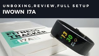 iWOWN i7A SMART BRACELET - UNBOXING, REVIEW, FULL SETUP