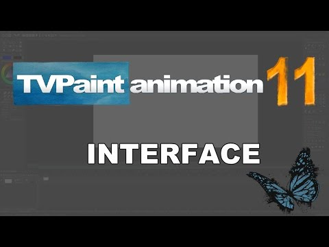 Introducing the interface (TVPaint Animation 11 tutorial)
