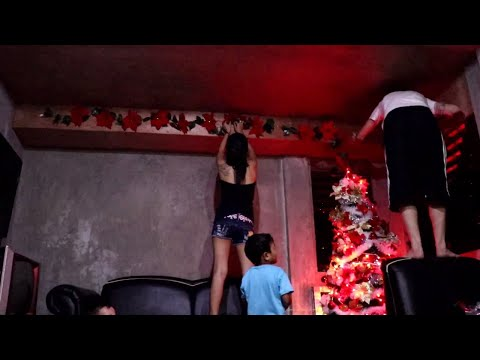 AHEEZY FAMILY CHRISTMAS TREE DECORATING (philippines)