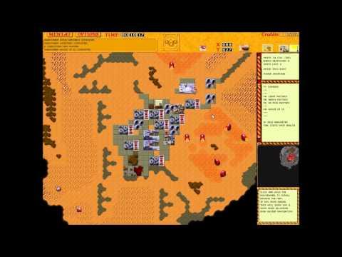 LET'S PLAY  Dune 2 The Golden Path Multiplayer Remake - Frontliner2 vs Krasz