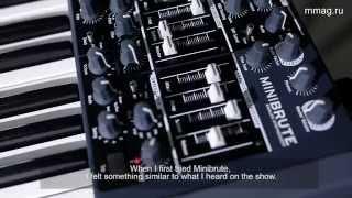 mmag.ru: Real Work 5 - Arturia Minibrute - аналоговый монофонический синтезатор