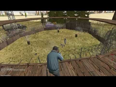 DayZ Epoch Taviana - Fresh Spawn Arena Combat! The Thunderdome ring of pain.