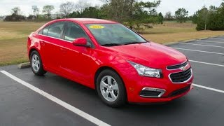 2015 Chevrolet Cruze 1LT Full Tour & Start-up at Massey Toyota