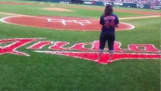 National Anthem: Cleveland Indians