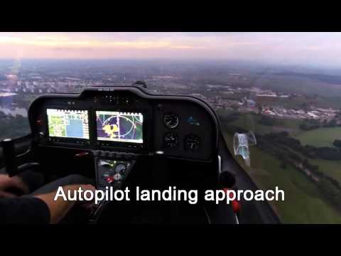 TL 2000 Sting S4 with GARMIN G3X Touch - full automatic landing approach