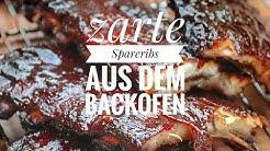 zarte Spareribs aus dem Backofen - Westmünsterland BBQ