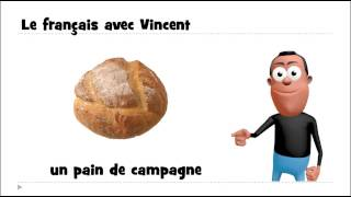 Learn 1 French Word # Un Pain De Campagne