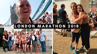 Running the London Marathon 2018 | The hottest on record!
