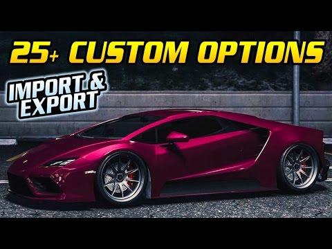 GTA Online: Import/Export DLC - BEST CUSTOMIZATION FOR THE NEW CARS (Elegy Retro, Tempesta & More)