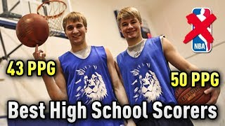 The Brothers Who Were Both The Nation's TOP SCORER In High School But WONT Make The NBA!