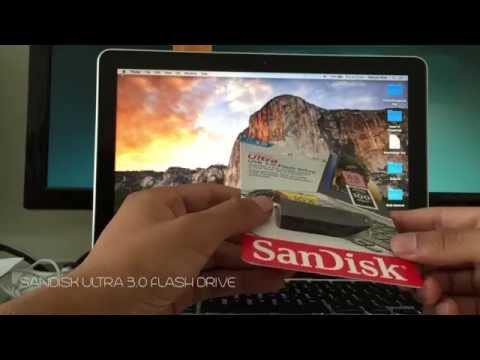 Sandisk Ultra USB 3.0 Unboxing & Review (Fast 100mb/s)