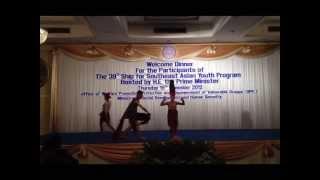 SSEAYP 2013 POC Thailand -  Bugkos Lahi performs Banga Salidsid (HD)