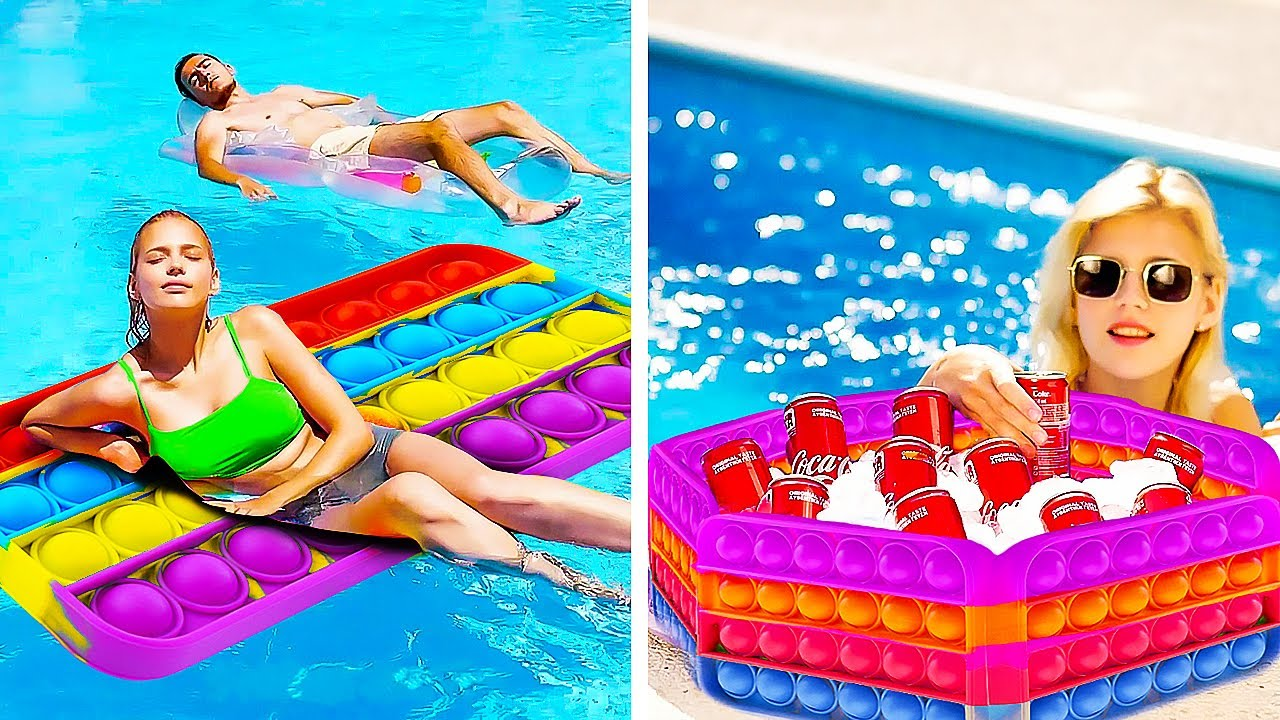 Pool Party Ideas and Beach Hacks for Perfect Vacay