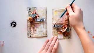 Cards Tutorial by Elena Morgun
